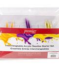 Premier Yarns Interchangeable Acrylic Needles Starter Knitting Set