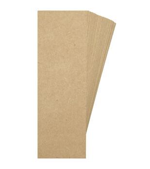 Park Lane 2''x6'' Cardstock Bookmarks-Kraft