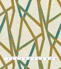 Home Decor 8\u0022x8\u0022 Fabric Swatch-Genevieve Gorder Intersections Peacock