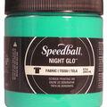 Night Glo Fabric Screen Printing Ink 8oz-Green