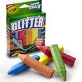 Crayola Glitter Sidewalk Chalk 5ct