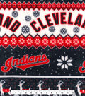 Cleveland Indians Fleece Fabric-Winter