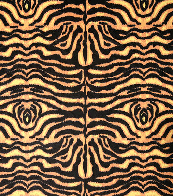 Halloween Alova Suede Fabric 60''-Tiger