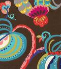 Genevieve Gorder Multi-Purpose Decor Fabric 54\u0027\u0027-Onyx Tropical Fete