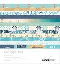 Kaisercraft Summer Splash 40-sheets 6.5\u0027\u0027 Paper Pad