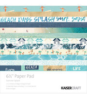 Kaisercraft Summer Splash 40-sheets 6.5'' Paper Pad, , hi-res