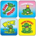 Carson Dellosa Frog Stickers 12 Packs