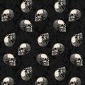 Maker\u0027s Halloween 52\u0027\u0027x90\u0027\u0027 Tablecloth-Skulls