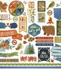 Campfire Stickers 12\u0022X12\u0022-Elements