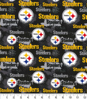Pittsburgh Steelers Cotton Fabric Distressed, , hi-res