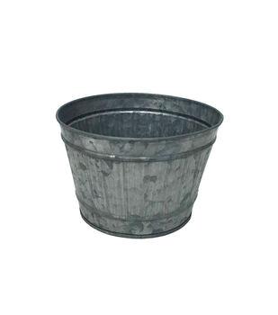 Ribbed Galvanized Bucket 6''