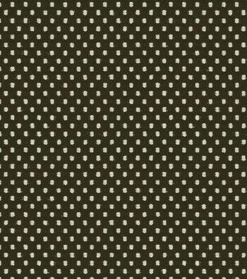 """Waverly Upholstery Fabric 54""""-Prussian Dot Onyx"""