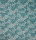 Quilter\u0027s Showcase Cotton Fabric-Teal Floral Sketch