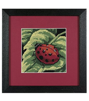 Dimensions Mini Needlepoint Kit Ladybug, Ladybug