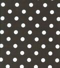 Keepsake Calico Cotton Fabric-Large Dot Brown
