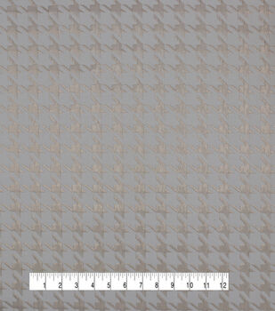 Jacquard Fabric-Gold Houndstooth