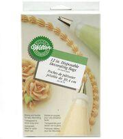 "Wilton 12"" Disposable Decorating Bags-24PK, , hi-res"