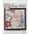 Design Works Crafts 10\u0027\u0027x10\u0027\u0027 Counted Cross Stitch Kit-Marche Jardin