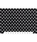 Bottomweights Stretch Twill Fabric 57\u0027\u0027-Foulard on Black