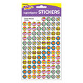 Cheer Words superSpots Stickers 800 Per Pack, 12 Packs