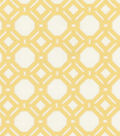P/K Lifestyles Upholstery 8x8 Fabric Swatch-Level Off/Sunshine