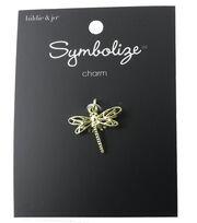 hildie & jo Symbolize Dragonfly Gold Charm, , hi-res