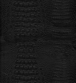 "Upholstery Vinyl 54""-Crock Black"
