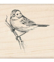 Inkadinkado Rubber Stamp-Sparrow, , hi-res