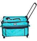 TUTTO Machine on Wheels Case-Turquoise