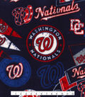 Washington Nationals Fleece Fabric 58\u0022-Vintage