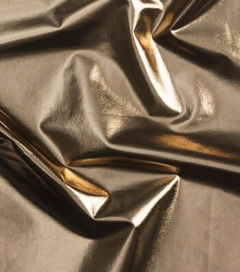 Cosplay by Yaya Han 4-Way Metallic Fabric-Bright Gold