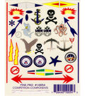 Pine Car Derby Decal 4\u0022X5\u0022-Anchors Aweigh