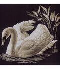 Swan Counted Cross Stitch Kit-15.7\u0022X13.7\u0022 14 Count