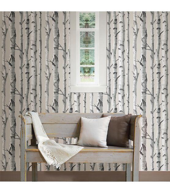 Birch Tree Wallpaper Peel Stick Wallpaper