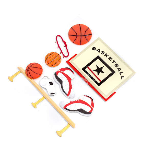 Jolee's Boutique Stickers Basketball, , hi-res, image 2