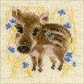 RIOLIS Counted Cross Stitch Kit-Little Boar