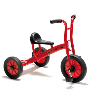 Winther Viking Medium Tricycle with Big Seat-Red