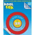 Kool Tak Ultra Clear Tape 0.13\u0022 x 16 yards