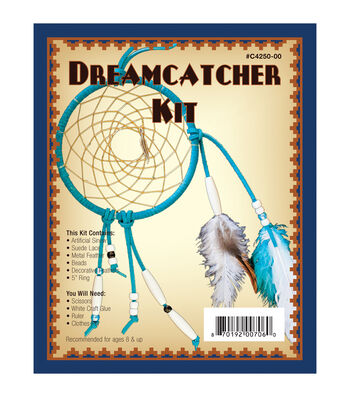 "Leathercraft Kit-Dreamcatcher 5"""
