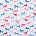 Super Snuggle Flannel Fabric-Running Horses