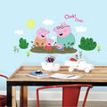 York Wallcoverings Wall Decals-Peppa the Pig Family Muddy Puddles