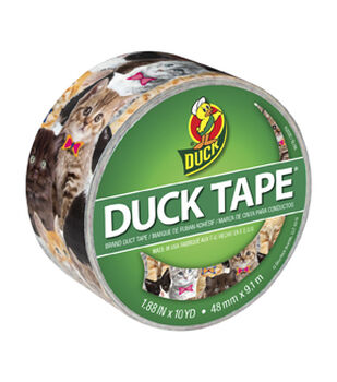 Duck Tape Br& Duct Tape 1.88 in. x 10 yd.-Kitty Kitty