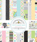 Doodlebug Double-Sided Paper Pack 12\u0022X12\u0022-Kitten Smitten
