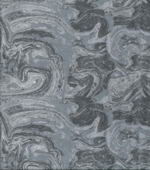 Wide Flannel Fabric-Gray Marble