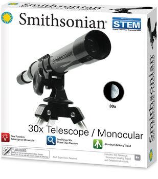 Smithsonian 30x Telescope/Monocular STEM Kit