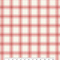 Christmas Cotton Fabric-Candy Cane Plaid
