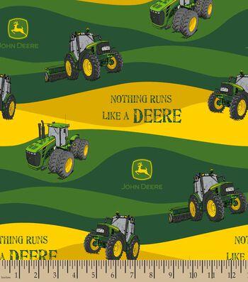 John Deere Hills Print Fabric