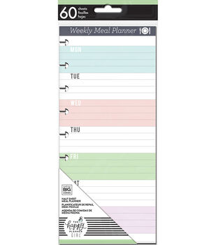The Happy Planner Girl Daydreamer Collection Meal Planner