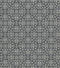 Crypton Upholstery Fabric 54\u0022-Aztec-Black