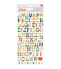 American Crafts Shimelle True Stories Hipster Alpha Stickers